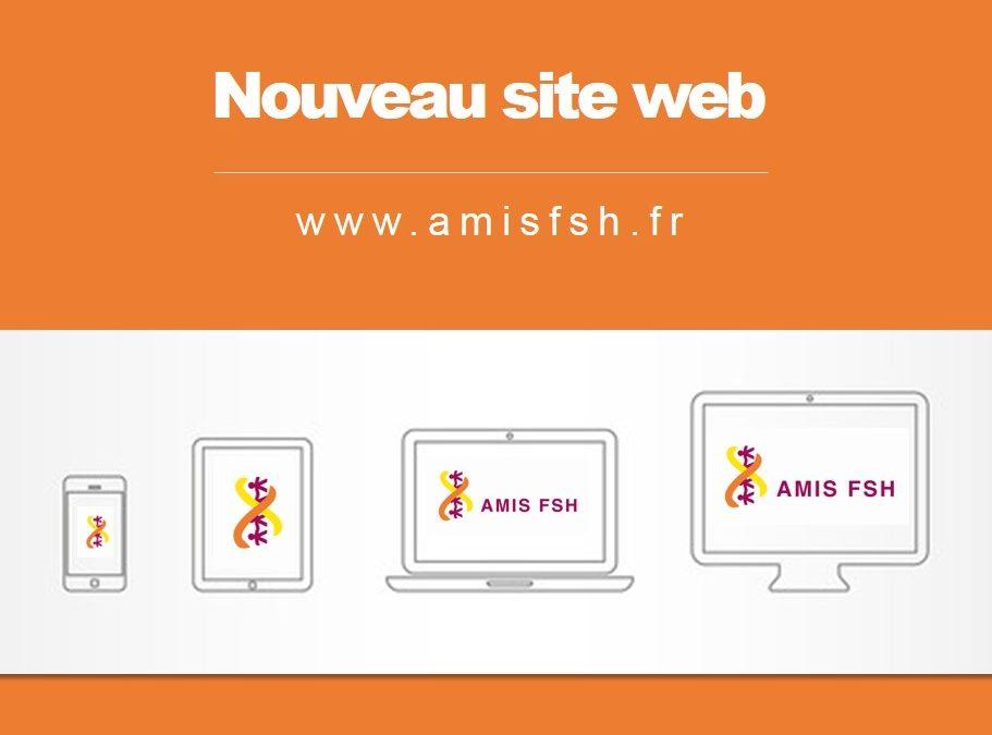 Enfin, notre nouveau site est en ligne