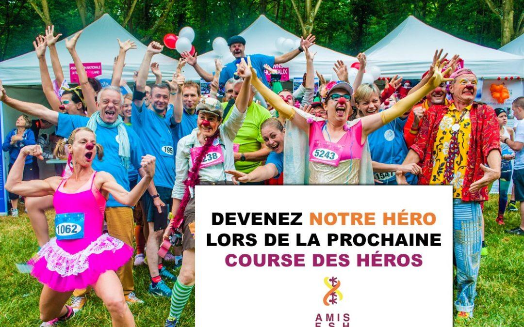 L'interview de Sandrine, participante à la course des héros