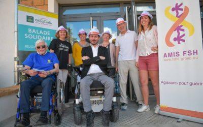 La Balade Solidairede la Fondation Groupamapour AMIS FSH